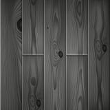 Il legno grigio scuro realistico si imbarca sulla struttura illustrazione di stock