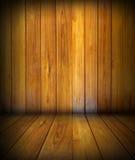 Il legno marrone Fotografia Stock Libera da Diritti