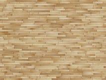 Il legno si imbarca sulla facciata Fotografia Stock