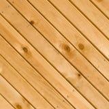 Il legno si imbarca sulla struttura con la chiodo-testa Fotografia Stock Libera da Diritti