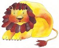 Il leone Immagini Stock