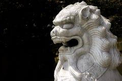 Il leone cinese Fotografia Stock Libera da Diritti