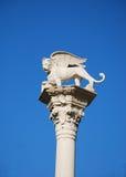 Il Leone di San Marco, Vicenza Royalty Free Stock Photo
