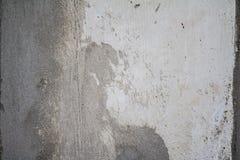 Il lerciume ha invecchiato la struttura bianca della parete immagine stock