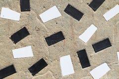 Il lerciume ha piastrellato il mosaico, fondo astratto Fotografia Stock Libera da Diritti