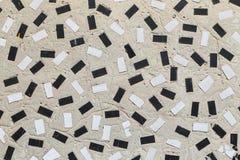 Il lerciume ha piastrellato il mosaico, fondo astratto Fotografie Stock Libere da Diritti