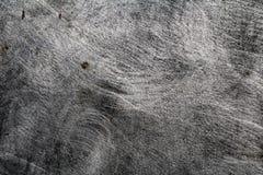 Il lerciume ha spazzolato la struttura della superficie di metallo fotografia stock libera da diritti