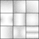 Il lerciume sottile ha punteggiato l'insieme granuloso di vettore di strutture illustrazione di stock