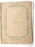 Il libro antico isolato su priorità bassa bianca Fotografie Stock