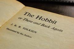 Il libro di Hobbit fotografia stock