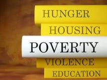 Il libro di povertà Fotografie Stock Libere da Diritti