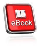 Il libro elettronico Fotografie Stock Libere da Diritti