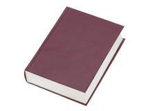 Il libro isolato su una priorità bassa bianca Fotografia Stock