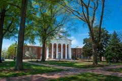 Il liceo all'università di Mississippi immagine stock