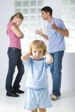 Il litigio della famiglia Fotografie Stock Libere da Diritti