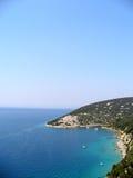 Il litorale Fotografia Stock