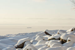 Il litorale del Mar Baltico Fotografia Stock