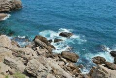 Il litorale della Crimea Fotografie Stock