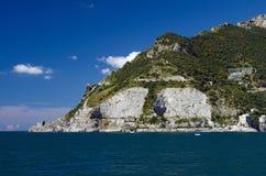 Il litorale di Amalfi Fotografia Stock