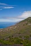 Il litorale di La Palma Fotografia Stock Libera da Diritti