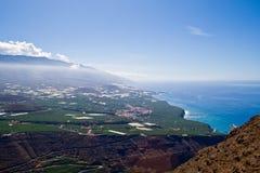 Il litorale di La Palma Immagini Stock