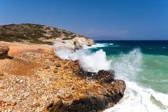 Il litorale di mare Fotografia Stock