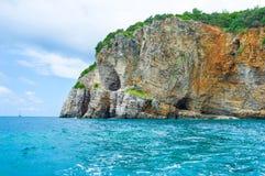Il litorale roccioso Immagini Stock