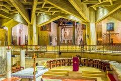 Il livello più basso della basilica Fotografie Stock