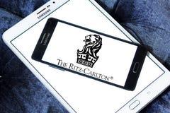 Il logo degli hotel di Ritz-Carlton Fotografie Stock
