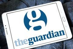Il logo del giornale del guardiano Fotografie Stock