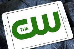 Il logo della rete di cw Fotografia Stock