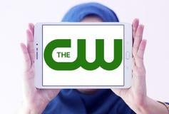 Il logo della rete di cw Immagini Stock Libere da Diritti