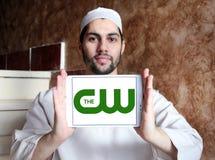Il logo della rete di cw Fotografie Stock