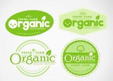 Il logo ed il simbolo progettano organico Fotografie Stock