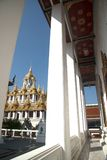 Il Loha Prasat o castello del metallo in Wat Ratchanatdaram Woravihan Immagini Stock