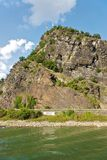 Il Loreley, Germania Fotografie Stock