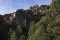 Il Los Ports le montagne Immagini Stock