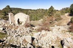 Il Los Ports il parco naturale Immagine Stock Libera da Diritti