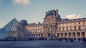 'Il Louvre' stock footage