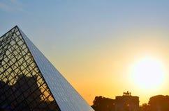 Il Louvre, Francia Fotografia Stock