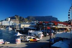 Il lungomare di Alfred & di Victoria (V&A) Città del Capo La Provincia del Capo Occidentale, Sudafrica fotografia stock