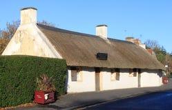 Il luogo di nascita del cottage delle ustioni di Robert brucia, Alloway Fotografie Stock