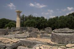 Il luogo storico di Olympia fotografia stock
