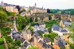 Il Lussemburgo Fotografia Stock Libera da Diritti