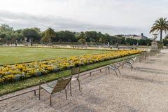 Il Lussemburgo fa il giardinaggio in primavera fotografia stock