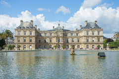Il Lussemburgo fa il giardinaggio (Jardin du Lussemburgo) a Parigi, Francia Immagine Stock Libera da Diritti