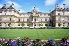 Il Lussemburgo fa il giardinaggio a Parigi Fotografia Stock Libera da Diritti