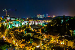 Il Lussemburgo - vecchia città Immagine Stock