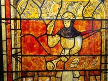 Il macellaio nell'età medievale Fotografie Stock Libere da Diritti