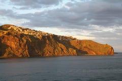 Il Madera nel sole di sera Fotografia Stock
